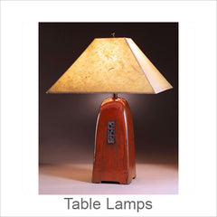 Artistic Table Lamps, Contemporary Artisan Designer Table Lamps