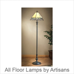 Artistic Floor Lamps, Contemporary Artisan Designer Floor Lamps: Artisans