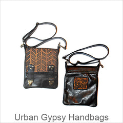 Urban Gypsy Handbags, Christina Hankins, Artistic Designer Handbags