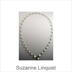 Suzanne Linquist Jewelry, Red Circle Metals Jewelry, Artistic Artisan Designer Jewelry