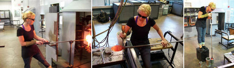Crystal Postighone Glass Blowing Image