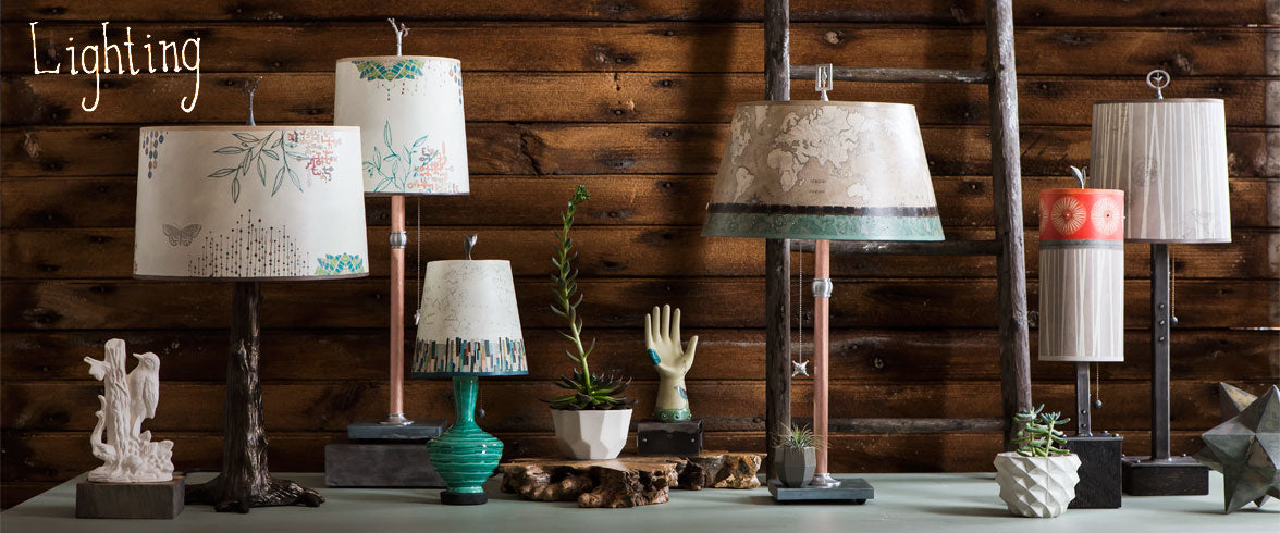 Ugone and Thomas Table Lamps, Artistic Table Lamps