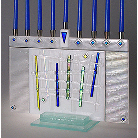 Beames Designs Menorah Lattice JM54 Artistic Artisan Designer Judaica
