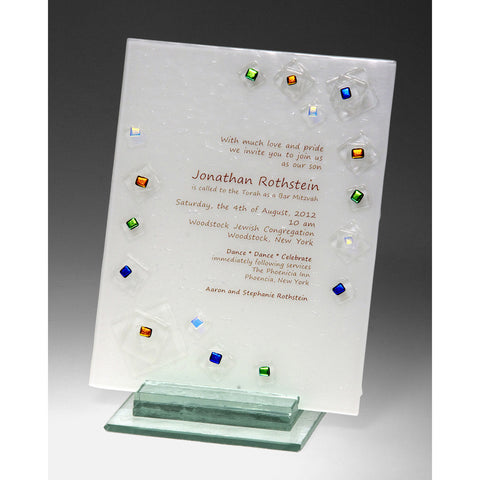 Invitation Piece Geo INV8 by Beames Designs