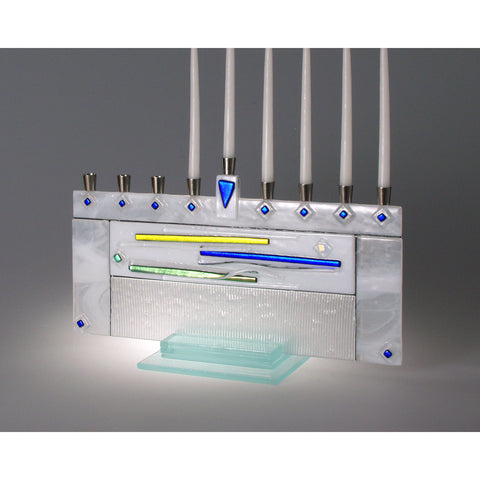 Menorah Millenium Horizontal JM53 by Beames Designs