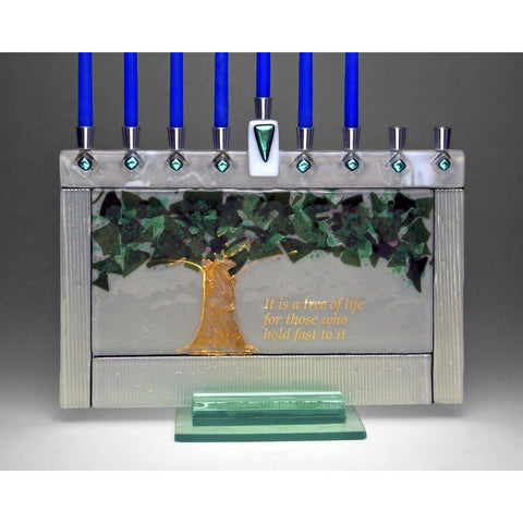 Menorah Tree of Life JM57 by Beames Designs