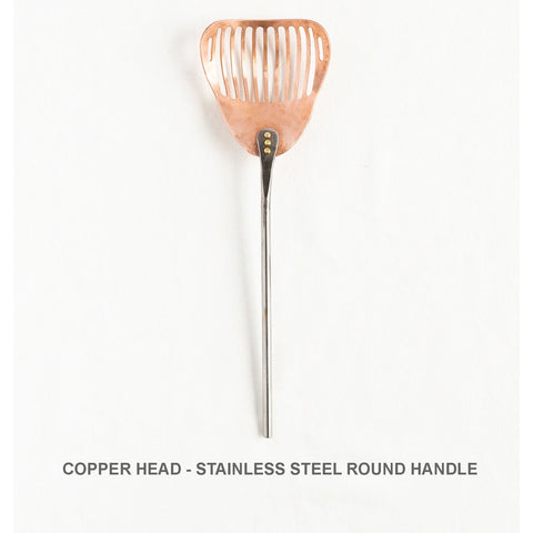 Beautifully Served by Jill Rikkers Slotted Spoon Hand Forged Artisanal Kitchen Tools