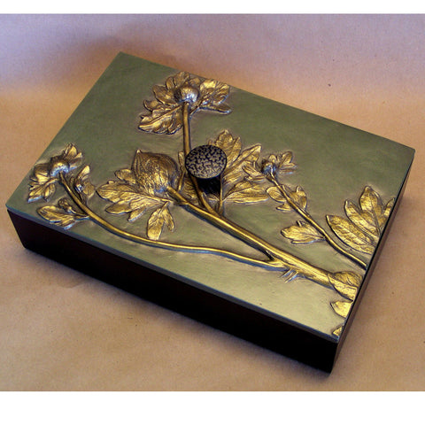 Blindspot Box by Deborah Childress Poppy Box 2 Artistic Artisan Designer Boxes