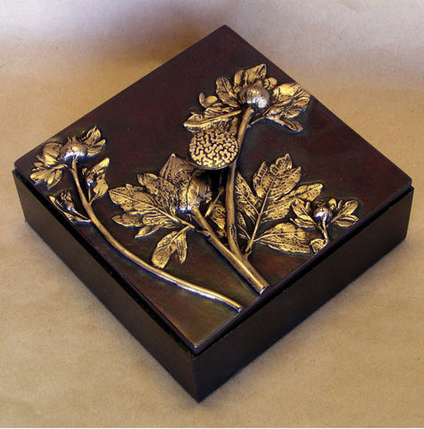 Poppy Box 1 by Deborah Childress of Blindspot Mirrors