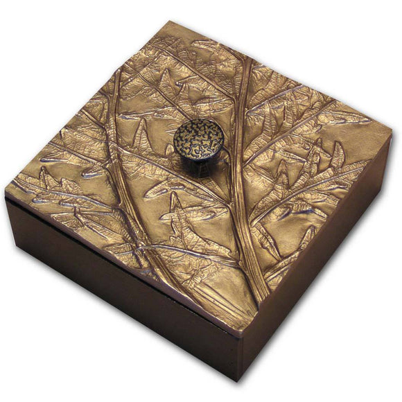 Blindspot Boxes by Deborah Childress Artichoke Box Artistic Artisan Boxes