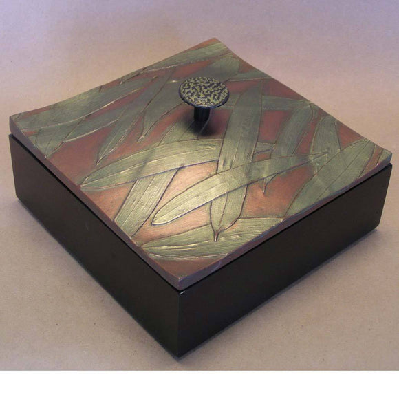 Blindspot Boxes by Deborah Childress Bamboo Box 1 Artistic Artisan Boxes