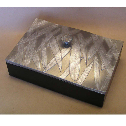 Blindspot Boxes by Deborah Childress Bamboo Box Artistic Artisan Boxes