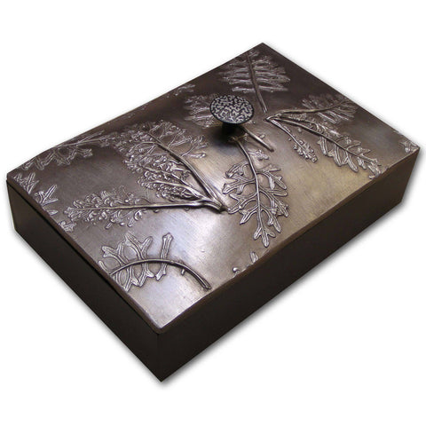 Blindspot Boxes by Deborah Childress Dusty Miller Box Artistic Artisan Boxes