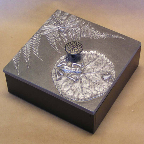 Blindspot Boxes by Deborah Childress Frog Pond Box 2 Artistic Artisan Boxes