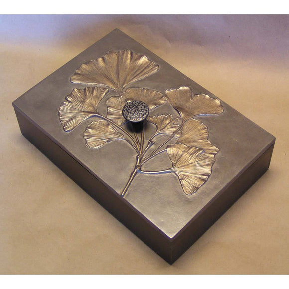 Blindspot Boxes by Deborah Childress Gingko Box 1 Artistic Artisan Boxes