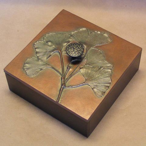 Blindspot Boxes by Deborah Childress Gingko Box Artistic Artisan Boxes