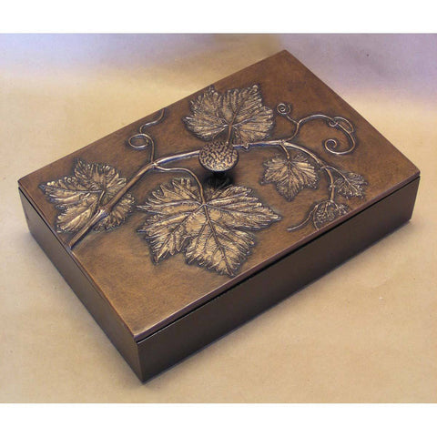 Blindspot Boxes by Deborah Childress Grapevine Box 1 Artistic Artisan Boxes