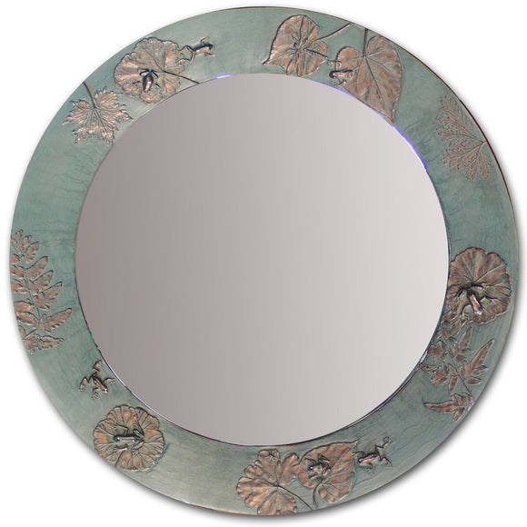 Frog Pond Round and Oval Mirror, Blindspot Mirrors by Deborah Childress