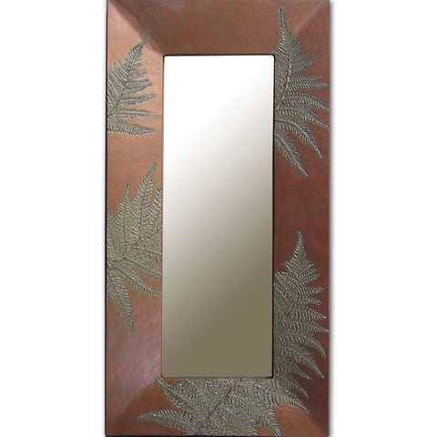 Tree Fern Mirror, Blindspot Mirrors by Deborah Childress