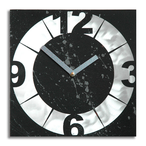 Burly Wall Clock by Robert and Jacqueline Rickard