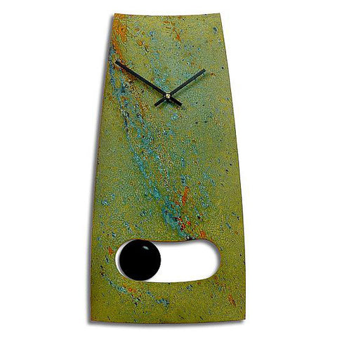 Cheshire Pendulum Wall Clock by Robert and Jacqueline Rickard