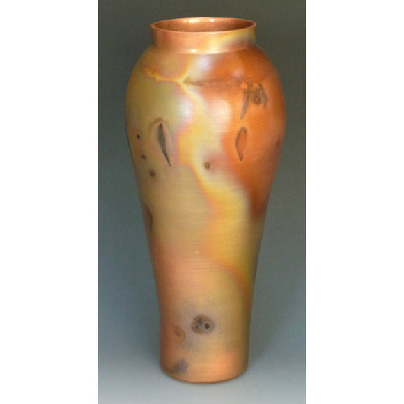 Cosmic Clay Studio New Class Vase Number 20 Sawdust Fired Handmade Pottery