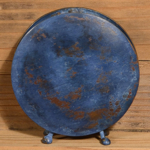 Round Vase in Antique Blue by David M. Bowman Studio