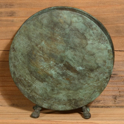 Round Vase in Dark Green by David M. Bowman Studio