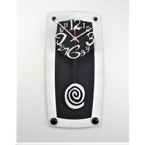 David Scherer Lg TV 7 Wall Clock Artistic Artisan Crafted Designer Clocks