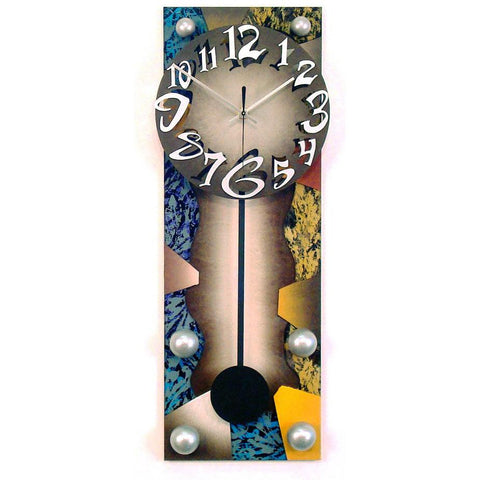 David Scherer Pendulum Wall Clock Time 24 Artistic Artisan Designer Handmade Clocks