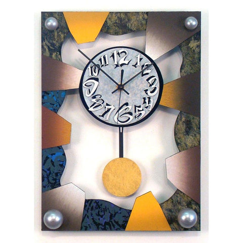 David Scherer Pendulum Wall Clock Time 35 Artistic Artisan Designer Handmade Clocks