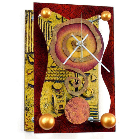 David Scherer Pendulum Wall Clock Mini March Artistic Artisan Designer Handmade Clocks
