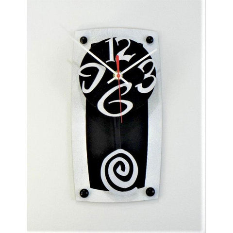 David Scherer TV 7 Wall Clock Artistic Artisan Crafted Designer Clocks