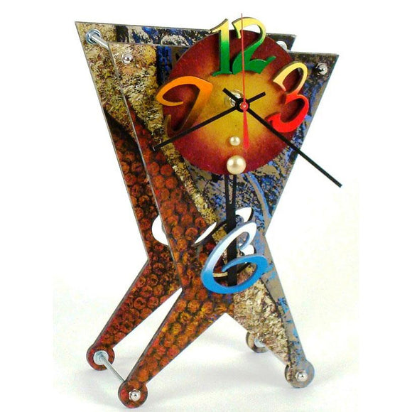 David Scherer Table Clock The 6 Artistic Artisan Designer Handmade Clocks