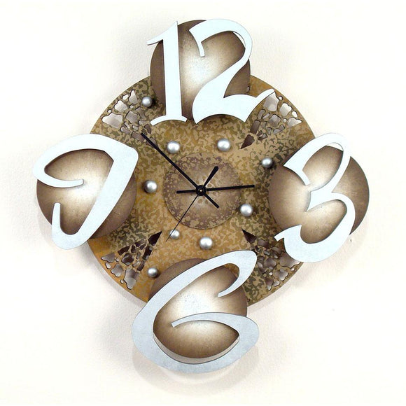 David Scherer Wall Clock Wild Time 3 Artistic Artisan Designer Handmade Clocks