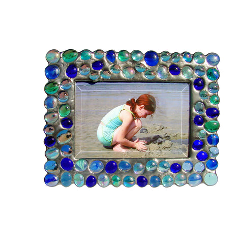 Bubble Blues Photo Frame BB-B by Diane Markin
