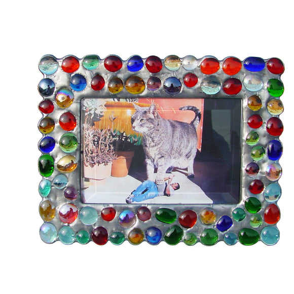 Diane Markin Bubble Multi Mix Photo Frame BB-M, Artistic Artisan Designer Photo Frames
