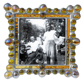 Edwardian Jewel Amber Photo Frame EJ-A by Diane Markin
