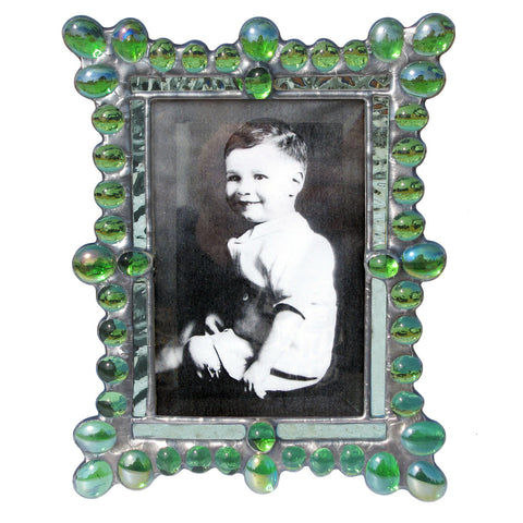 Diane Markin Edwardian Jewel Lime Photo Frame EJ-L, Artistic Artisan Designer Photo Frames