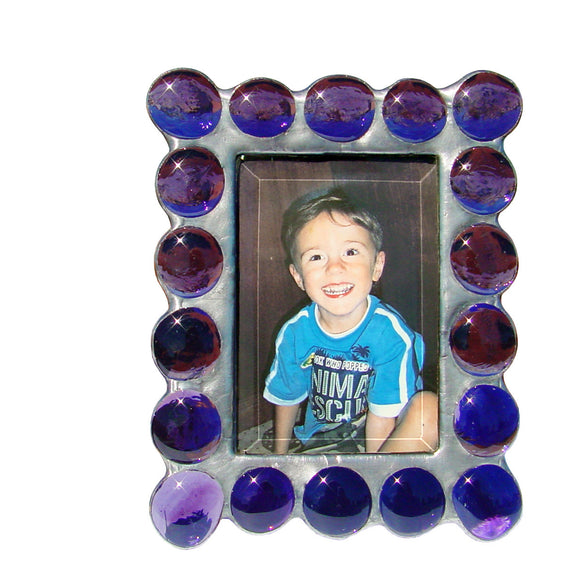 Diane Markin Fat Boy Purple Photo Frame FB-P, Artistic Artisan Designer Photo Frames