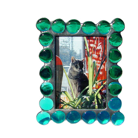 Fat Boy Teal Photo Frame FB-T by Diane Markin