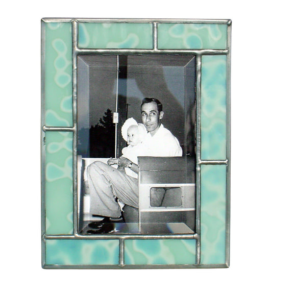 Diane Markin Freckle Green Photo Frame FR-G, Artistic Artisan Designer Photo Frames