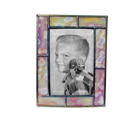 Diane Markin Freckle Peach Photo Frame FR-PE, Artistic Artisan Designer Photo Frames