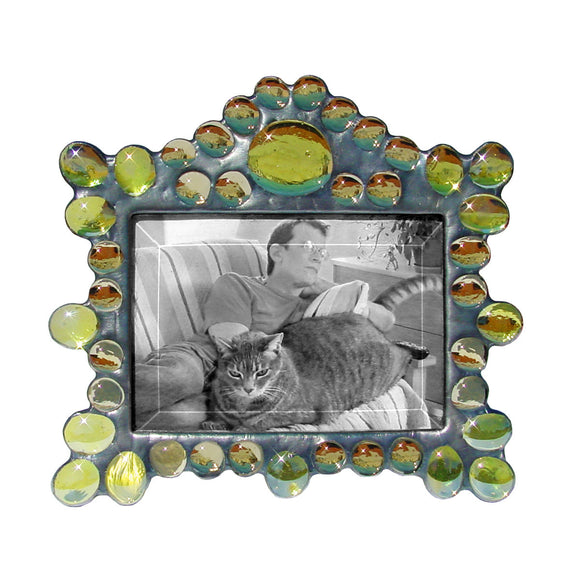 Diane Markin Marquee Horizontal Yellow Photo Frame MH-Y, Artistic Artisan Designer Photo Frames