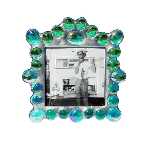 Marquee Teal Photo Frame M-T by Diane Markin