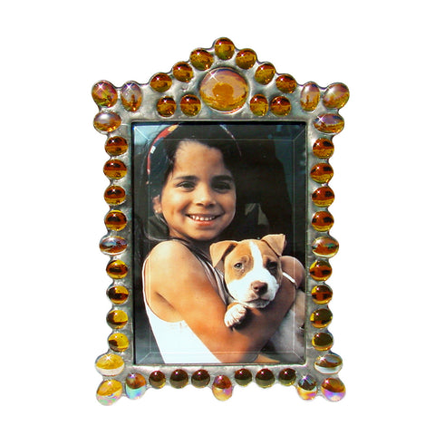 Marquee Vertical Amber Photo Frame MV-A by Diane Markin