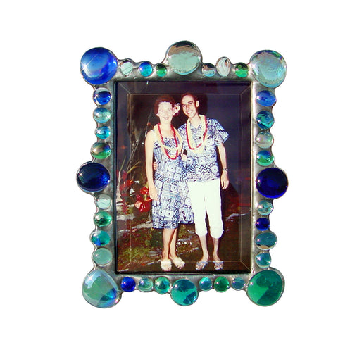 New Jewel Blue Photo Frame NJ-B by Diane Markin