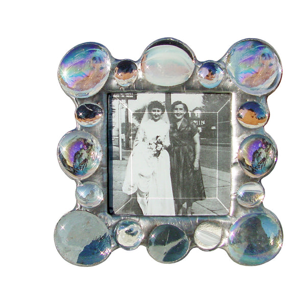 Diane Markin New Jewel Clear Photo Frame, Artistic Artisan Designer Photo Frames