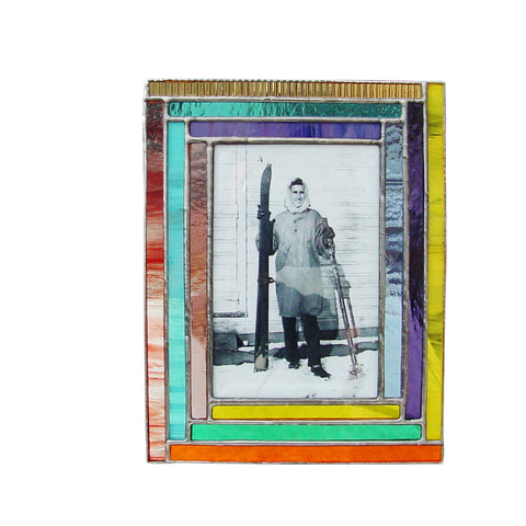 Diane Markin Rainbow Multi Mix Photo Frame RA-M, Artistic Artisan Designer Photo Frames