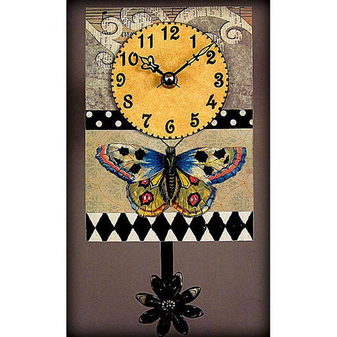 Butterfly Clock S30 by Duane Scherer